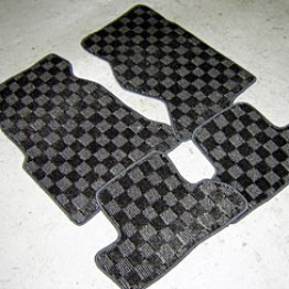 FD3S Checkered Floor Mats