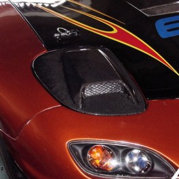 Auto Craft Evolution Carbon Headlight Covers for RX7   ROTARYLOVE