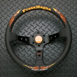KEY!S Fossa Magna Steering Wheel For Miata MX5 MX-5 ALL YEARS JDM Roadster : REV9 Autosport